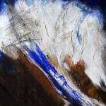 Nordkette | 2006 | 81 x 66 cm | Mischtechnik auf Karton | Privatsammlung