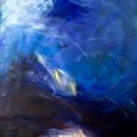 Gewitter in den Bergen | 2007 | 120 x 105 cm | Acryl auf Leinwand auf Holz | Privatsammlung