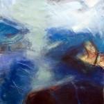 Lichtblick | 2008 | 81 x 76 cm | Mischtechnik auf Papier | Privatsammlung