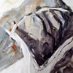 Serles | 2008 |100 x 70 cm | Acryl auf Leinwand | Alpenglühen | 2010 | 100x150cm | Acryl auf Leinwand | Privatsammlung