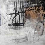 gen Himmel | 30 x 30 cm | Wachs, Acryl auf Hartfaserplatte | Alpenglühen | 2010 | 100x150cm | Acryl auf Leinwand | Privatsammlung