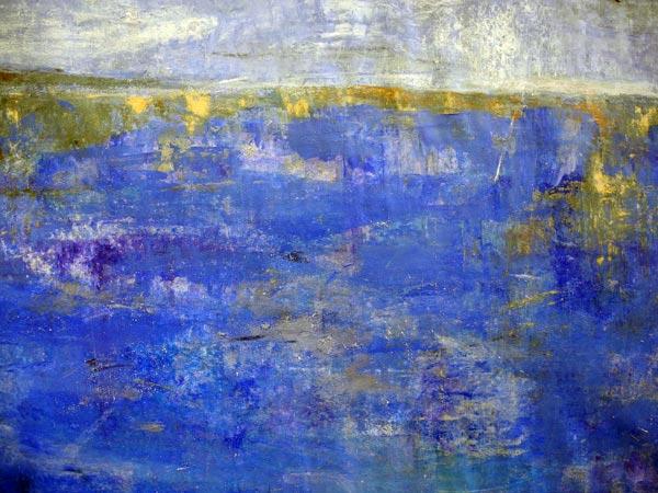 17-Simply-Blue,-46-x-60-cm,--Mischtechnik-auf-Papier-2014