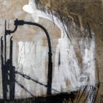 o.T. | 2014 | 20 x 20 cm | Wachs - Acryl auf Hartfaserplatte | Privatsammlung