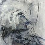 Akt in Grau | 2014 | 60 x 40 cm | Mischtechnik auf Papier