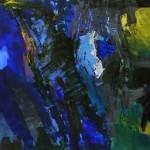 Blau | 2014 |45x65 cm | Acryl-Pigmente auf Papier