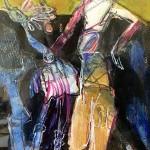Bleib! | 2013 | 25 cm x 18 cm | Mischtechnik auf Papier