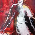Clown | 2013 | 25 cm x 18 cm | Mischtechnik auf Papier