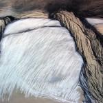 Dämmerung | 2007 | 80 x 100 cm | Pastellkreide auf Papier | Privatsammlung