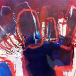 Hirschkrone | 2013 | 25 cm x 18 cm | Mischtechnik auf Papier | Privatsammlung