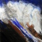 NK8 | 65x80 | Collage Acryl Pigmente auf Papier | Privatsammlung