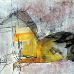 Pferd | 2013 | 32 cm x 20 cm | Mischtechnik auf Papier