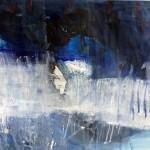 Rhapsody in Blue | 2014 | 45 x 66 cm | Acryl auf Papier