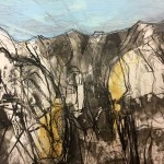 Wilder Kaiser | 2013 | 30 x 40 cm | Mischtechnik auf Papier