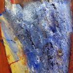 blue chip | 2009 | 80 x 66 cm | Mischtechnik auf Karton
