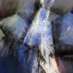 im Licht | 2009 | 80 x 66 cm | Mischtechnik auf Karton