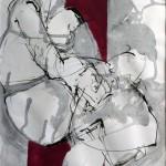 in Gedanken | 2010 | 40 x 28 cm | Tusche auf Papier