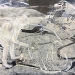 02 o.T. | 2019 | 40 x 53 cm |Mischtechnik auf Papier