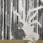 04 o.T. | 2019 | 38 x 29 cm | Mischtechnik auf Papier