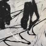 12 o.T. | 2019 | 42 x 60 cm |Holz: Monotypie auf Papie