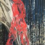 18 o.T. | 2019 | 38 x 29 cm | Mischtechnik auf Papier