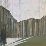 Stille | 2016 | 70 x 50 cm | Mischtechnik | Collage suf Leinwand