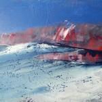 Brandung | 2017 | 76 x 90 cm | Acryl auf Leinwand